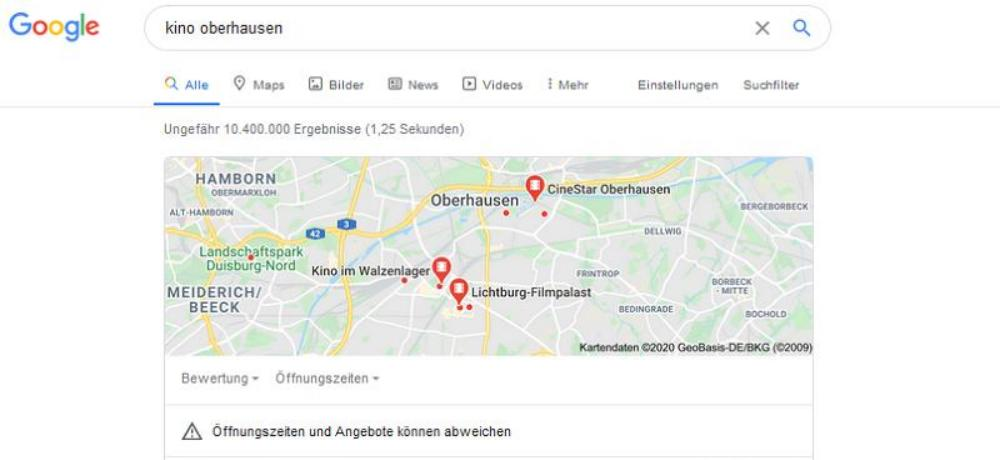 Local SEO für E-Commerce